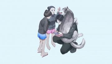 обоя аниме, yuri on ice, lee, seung-gil