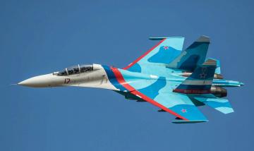 обоя su-27ub, авиация, боевые самолёты, истреьитель