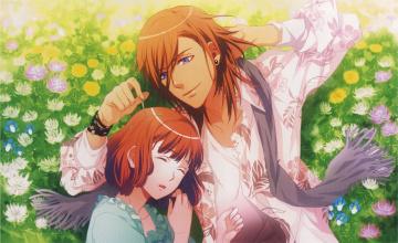 обоя аниме, uta no prince-sama, поющий, принц