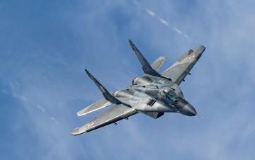 обоя mig-29a, авиация, боевые самолёты, истреьитель