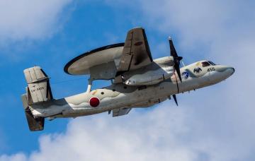 обоя e-2c, авиация, военно-транспортные самолёты, разведчик