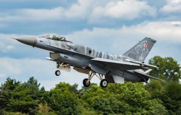 обоя f-16c, авиация, боевые самолёты, истреьитель