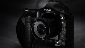 обоя canon eos 1 mark ii, бренды, canon, канон, объектив, камера, mark, 2, eos, 1