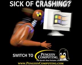 обоя linux, компьютеры
