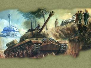 обоя техника, военная, танк, гусеничная, бронетехника