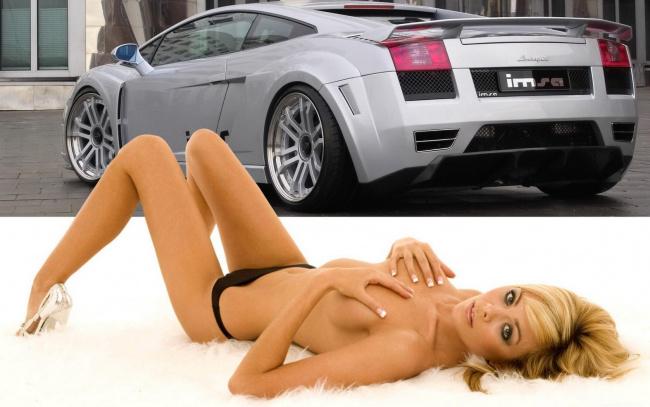 Фото автомобили и девушки голые
