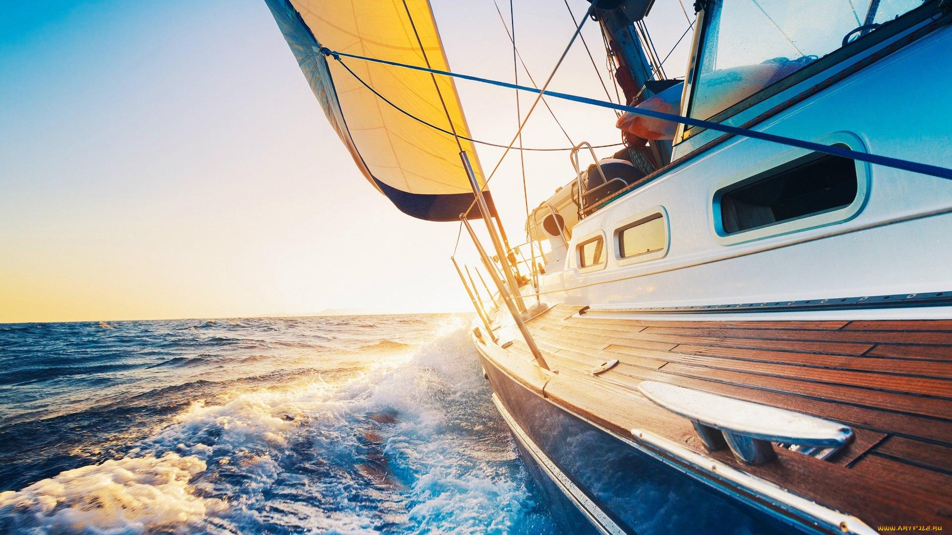 Днем, картинки яхты парусники