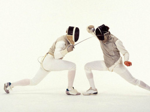 обоя спорт, фехтование