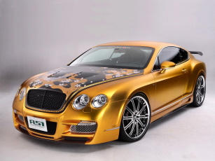 Картинка 2008 asi bentley w66 gts gold автомобили