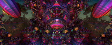 обоя 3д графика, абстракция , abstract, узор, цвета, фон