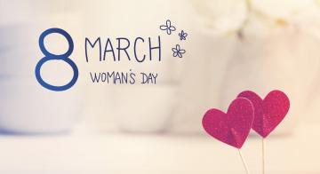 обоя праздничные, международный женский день - 8 марта, сердечки, happy, 8, марта, heart, romantic, gift, women's, day