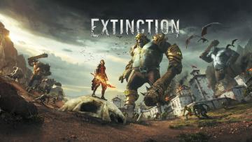 Картинка extinction видео+игры ролевая action