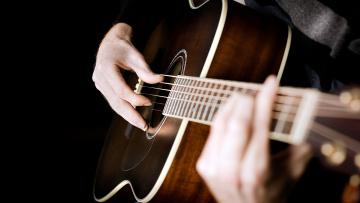 обоя музыка, -музыкальные инструменты, гитара, руки, музыкант, струны