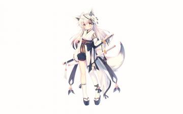 обоя аниме, животные,  существа, misaki, yuu