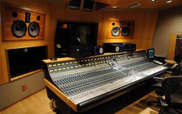 обоя музыка, -музыкальные инструменты, музыкальная, студия