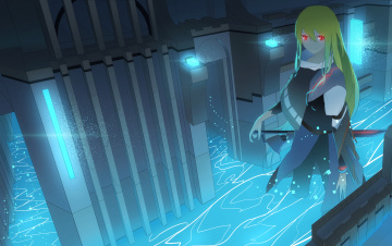 обоя аниме, оружие,  техника,  технологии, asuteroid