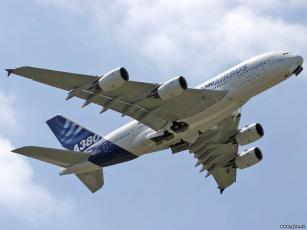 обоя airbus, авиация, пассажирские, самолёты