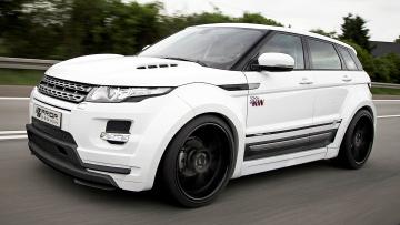 Картинка range rover evoque автомобили класс люкс великобритания полноразмерный внедорожник