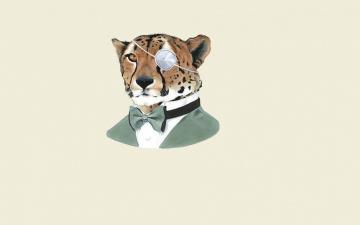 Картинка рисованные минимализм тигр