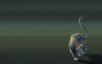 Картинка рисованное минимализм пума