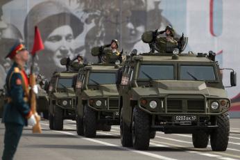 обоя техника, военная техника, газ-2330, тигр, -, разведчики, военная, военные, солдаты, российский-2703