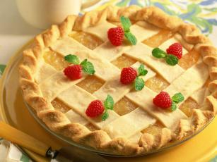 Картинка еда пироги
