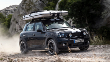 Картинка mini countryman автомобили великобритания british motor corporation