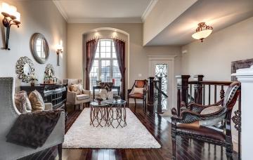 обоя интерьер, гостиная, мебель, комната