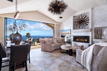 обоя интерьер, гостиная, living, room, стиль, стол, style, table, furniture, мебель