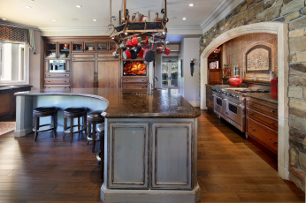 обоя интерьер, кухня, стиль, уют, дизайн
