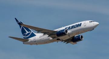 обоя boeing 737-78j, авиация, пассажирские самолёты, авиалайнер
