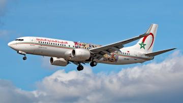 обоя boeing 737-86n, авиация, пассажирские самолёты, авиалайнер