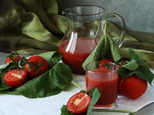 еда помидоры сок томатный ложка  № 2891561  скачать