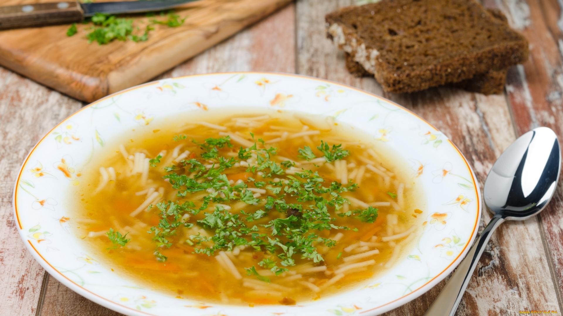 Рецепт супа с макаронами