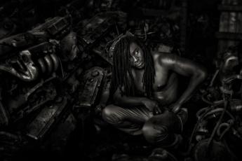 Картинка мужчины -+unsort техно чернокожий парень