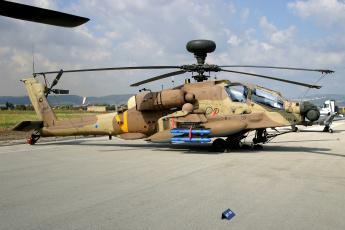 Картинка ah64+idf авиация вертолёты вертушка