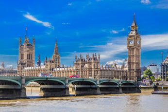 обоя westminster, города, лондон , великобритания, река, мост