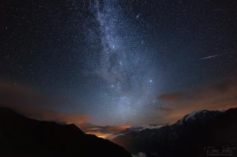 обоя космос, галактики, туманности, звезды, галактика