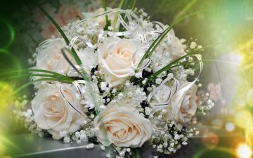 обоя цветы, букеты,  композиции, букет, розы, праздник