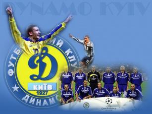 обоя dynamo, kiev, спорт, футбол