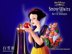 Картинка мультфильмы snow white and the seven dwarfs
