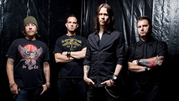 Картинка alter bridge рок ролл сша музыка рок-н-ролл
