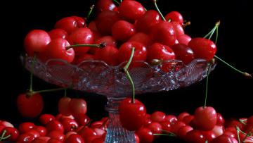 Картинка еда вишня +черешня