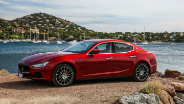 Картинка maserati+ghibli+sq4+sport+package+2017 автомобили maserati sq4 ghibli красный package sport 2017