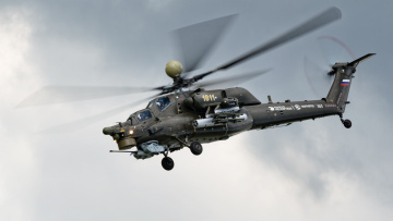 обоя mi-28n night hunter, авиация, вертолёты, ввс