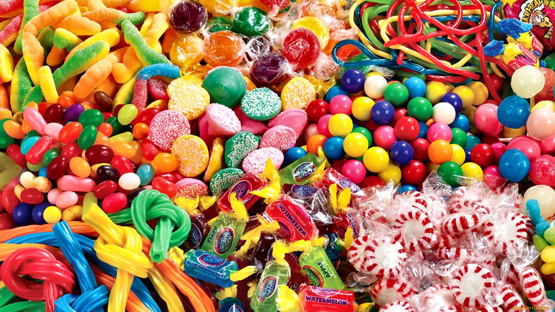 Фотки много сладостей