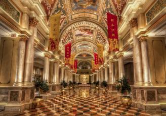 обоя venetian hotel, интерьер, кафе,  рестораны,  отели, отель, холл