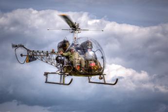 Картинка bell+47 авиация вертолёты легкий вертолет