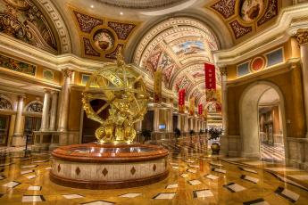Картинка golden+armillary+sphere интерьер холлы +лестницы +корридоры скульптура фойе колоннада