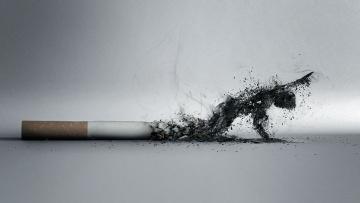 обоя разное, компьютерный дизайн, человек, пепел, сигарета, дым